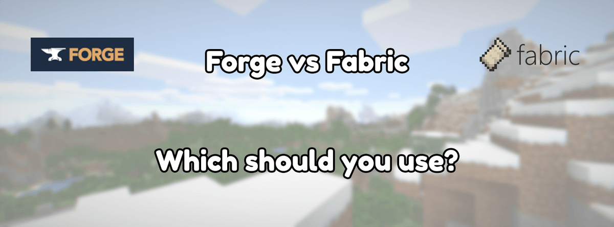 Minecraft Forge vs Fabric, which should you use?