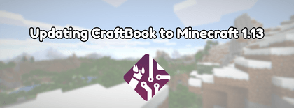 Updating CraftBook to Minecraft 1.13