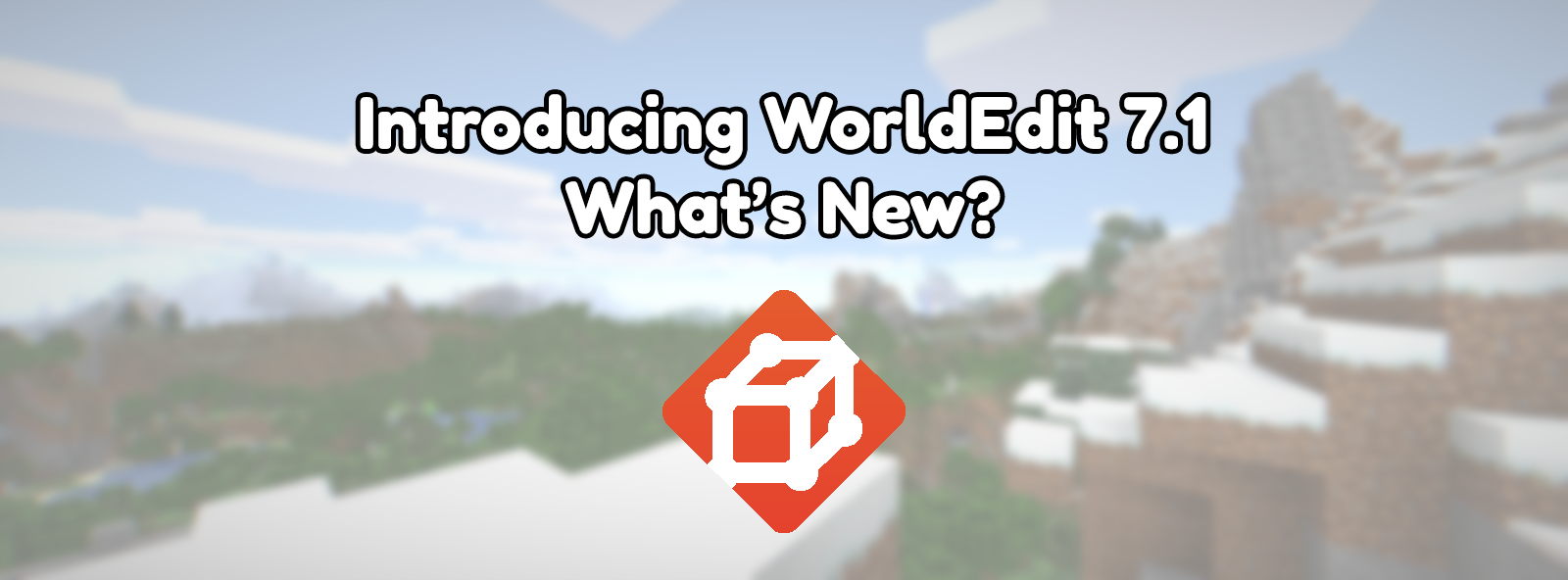 What's new in WorldEdit 7.1?