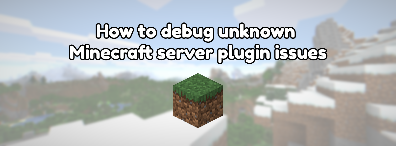 How to debug unknown Minecraft server plugin issues